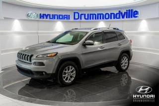 Used 2015 Jeep Cherokee NORTH 4X4 + GARANTIE + MAGS + CAM. + WOW for sale in Drummondville, QC