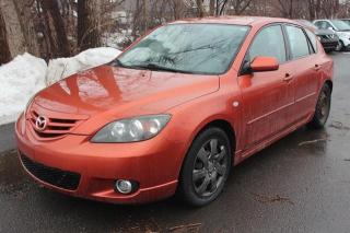 Used 2005 Mazda MAZDA3 Sport GS for sale in St-Constant, QC
