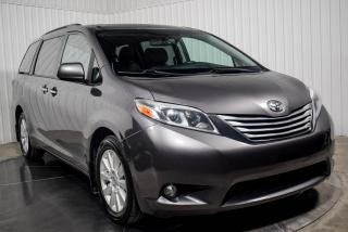 Used 2015 Toyota Sienna XLE AWD CUIR TOIT TV/DVD NAV MAGS for sale in Île-Perrot, QC