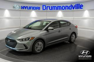 Used 2017 Hyundai Elantra L + GARANTIE + SIEGES CHAUFFANTS !! for sale in Drummondville, QC