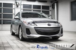 Used 2012 Mazda MAZDA3 GX chez Rimouski Hyundai for sale in Rimouski, QC