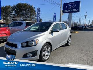 Used 2015 Chevrolet Sonic 5 portes à hayon LT for sale in Victoriaville, QC