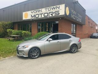 Used 2016 Lexus IS 300 F-Sport 3/AWD/Nav/SunRf/M.Levinson/H.Seats for sale in North York, ON