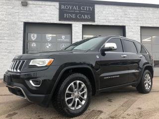 Used 2016 Jeep Grand Cherokee Limited Nav Panoroof Advanced Technology Group for sale in Guelph, ON