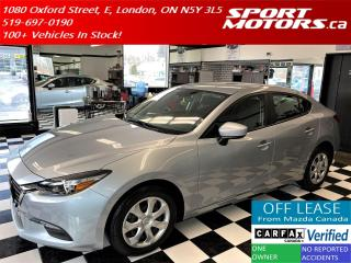 Used 2017 Mazda MAZDA3 GX+Camera+Bluetooth+Accident Free for sale in London, ON