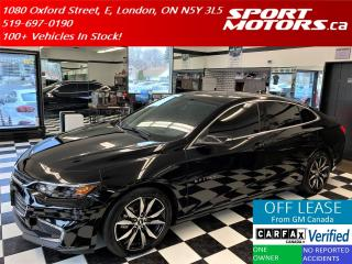 Used 2018 Chevrolet Malibu LT+Pano Roof+Apple Play+RMT Start+Accident Free for sale in London, ON
