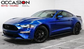 Used 2018 Ford Mustang EcoBoost  MAGS+CAM.RECUL+BLUETOOTH for sale in Boisbriand, QC