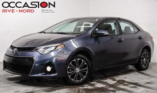 Used 2016 Toyota Corolla S CUIR+TOIT.OUVRANT+MAGS for sale in Boisbriand, QC