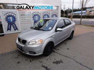 Used 2007 Pontiac Wave Manual Transmission AUX for sale in Victoria, BC