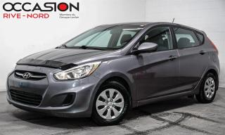 Used 2015 Hyundai Accent GL SIEGES.CHAUFFANTS+BLUETOOTH+A/C for sale in Boisbriand, QC