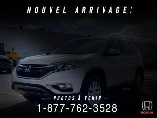 Used 2016 Honda CR-V SE + AWD + GARANTIE + WOW! for sale in St-Basile-le-Grand, QC