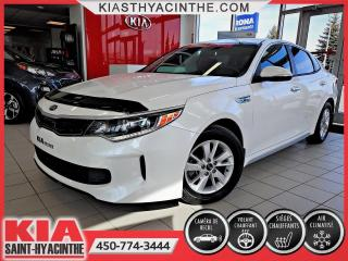 Used 2018 Kia Optima Hybride LX * CAMÉRA DE RECUL / VOLANT CHAUFFANT for sale in St-Hyacinthe, QC