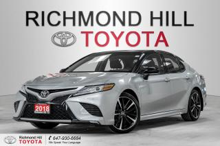 Used 2018 Toyota Camry XSE for sale in Richmond Hill, ON