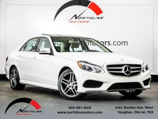 Used 2016 Mercedes-Benz E-Class E400 4MATIC|AMG Sport|Navigation|Blindspot|Pano Roof|Camera for sale in Vaughan, ON