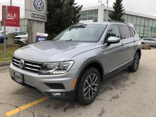 New 2020 Volkswagen Tiguan COMFORTLINE 4Motion for sale in Surrey, BC