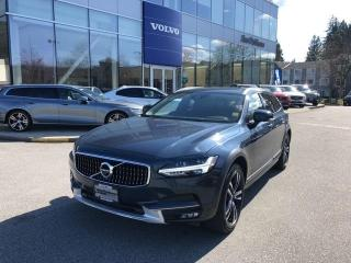 Used 2019 Volvo V90 Cross Country T6 Certified By Volvo Local BC Car No Accident Cla for sale in Surrey, BC