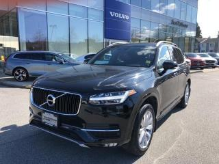 Used 2019 Volvo XC90 T6 Momentum Certified By Volvo Local BC Car No Acc for sale in Surrey, BC