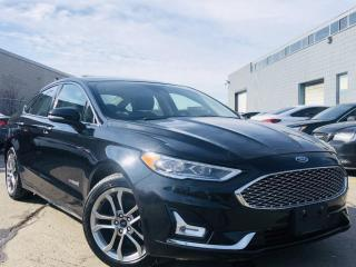 Used 2019 Ford Fusion Hybrid |TITANIUM PKG|HYBRID|COOLING SEATS|NAVIGATION|SUN ROOF! for sale in Brampton, ON