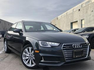 Used 2019 Audi A4 |QUATTRO|AUTO|SUN ROOF|HEATED MEMORY SEATS|REAR VIEW CAMERA! for sale in Brampton, ON