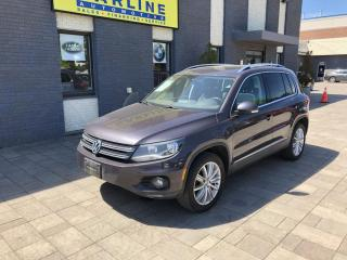 Used 2016 Volkswagen Tiguan 4MOTION 4dr Auto for sale in Nobleton, ON