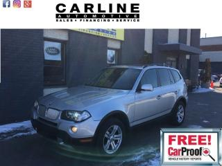 Used 2007 BMW X3 AWD 4dr 3.0si for sale in Nobleton, ON
