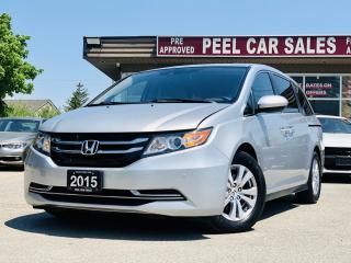 Used 2015 Honda Odyssey EX-L| VIDEO.CALL.US| CLEAN CARFAX| 8 PASSENGER| REARVIEW| PUSH START| for sale in Mississauga, ON
