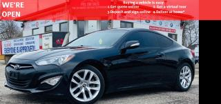 Used 2015 Hyundai Genesis Coupe 3.8 8AT|VIDEO.CALL.US NAVI| SUNROOF| LEATHER|6 SPEED| for sale in Mississauga, ON