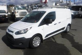 Used 2014 Ford Transit Connect XL LWB With Dual Fuel (Natural Gas and Gas) With Rear Shelving And Ladder Rack for sale in Burnaby, BC