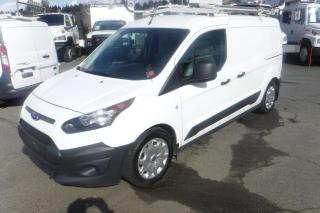 Used 2015 Ford Transit Connect XL LWB With Dual Fuel (Natural Gas and Gas) With Rear Shelving And Ladder Rack for sale in Burnaby, BC