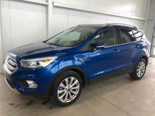 Used 2018 Ford Escape Titanium AWD CUIR GPS CAMERA SIEGES CHAUFFANTS 4RM 245HP for sale in St-Nicolas, QC