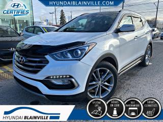 Used 2017 Hyundai Santa Fe Sport 2.0T, LIMITED, TURBO, AWD, TOIT PANORAMI for sale in Blainville, QC