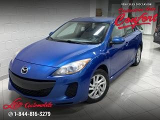 Used 2012 Mazda MAZDA3 GS*Bluetooth**sièges chauffants* for sale in Chicoutimi, QC