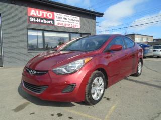 Used 2012 Hyundai Elantra for sale in St-Hubert, QC