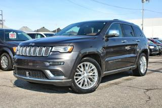 Used 2018 Jeep Grand Cherokee SUMMIT *V8*CUIR*TOIT*GPS* for sale in Brossard, QC