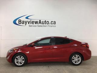 Used 2016 Hyundai Elantra GL - AUTO! HTD SEATS! REVERSE CAM! + MORE! for sale in Belleville, ON