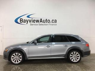 Used 2016 Audi A4 Allroad 2.0T Komfort - QUATTRO! HTD LEATHER! PANOROOF! for sale in Belleville, ON