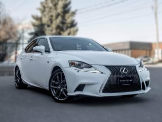 Used 2016 Lexus IS 350 F sport I AWD I NAV I Sunroof I White on Red  I LOW KM for sale in Toronto, ON