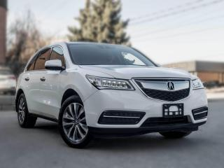 Used 2016 Acura MDX Tech Pkg I Nav I Leather I Roof I B.spot I Lane assist for sale in Toronto, ON