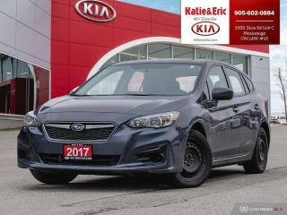 Used 2017 Subaru Impreza CONVENIENCE for sale in Mississauga, ON