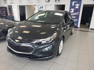 Used 2018 Chevrolet Cruze LT / SIEGE CHAUFFANT / CRUISE / CAMERA / for sale in Sherbrooke, QC