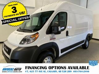 Used 2019 RAM 2500 ProMaster High Roof HIGH ROOF for sale in Calgary, AB