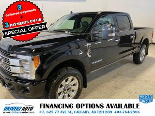 Used 2019 Ford F-350 Platinum PLATINUM ULTIMATE PACKAGE for sale in Calgary, AB