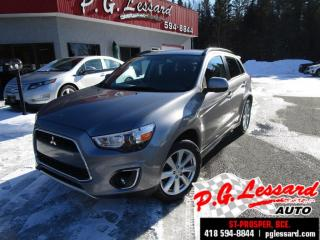 Used 2014 Mitsubishi RVR Se limited awd siege chauffant bluetooth for sale in St-Prosper, QC