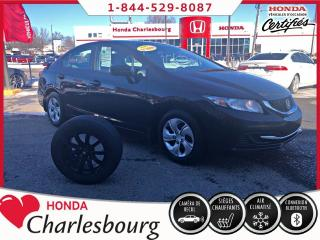 Used 2015 Honda Civic LX AUTOMATIQUE**UN PROPRIÉTAIRE** for sale in Charlesbourg, QC
