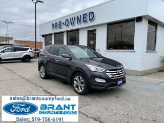 Used 2015 Hyundai Santa Fe Sport Limited for sale in Brantford, ON