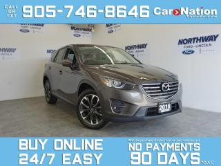 Used 2016 Mazda CX-5 GT | AWD | LEATHER | SUNROOF | NAV | ONLY 57 KM! for sale in Brantford, ON