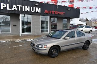 Used 2002 Volvo S60 2.4T LEATHER!! SUNROOF!! HEATED SEATS PLUS 2 SETS OF TIRES!! for sale in Saskatoon, SK