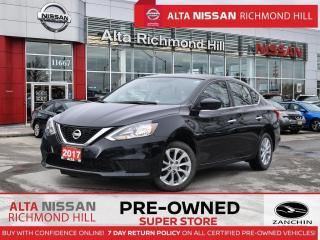 Used 2017 Nissan Sentra SV   Heated Seats   Push Start   Back-UP CAM for sale in Richmond Hill, ON