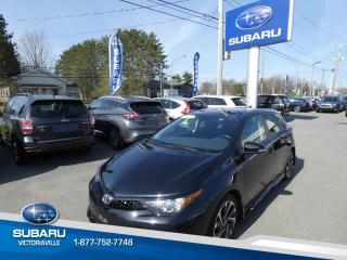 Used 2017 Toyota Corolla iM Hayon 4 portes for sale in Victoriaville, QC