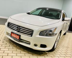 Used 2013 Nissan Maxima 3.5 SV | LEATHER | DOUBLE MOONROOF | PUSH BUTTON for sale in Brampton, ON